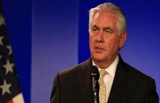 Tillerson'dan kritik Türkiye açıklaması