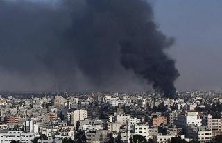 İsrail'den Gazze'ye topçu atışıyla saldırı