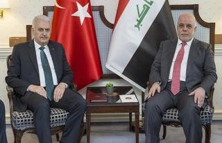 Başbakan Yıldırım, Irak Başbakanı İbadi ile...
