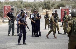 İşgal güçlerinden 8 Filistinliye gözaltı