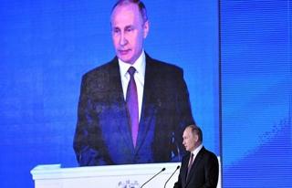 Putin'den canlı yayında nükleer tehdit