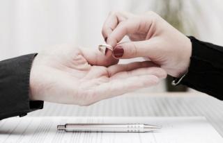 2017'de evlenmeler azalırken boşanmalar arttı