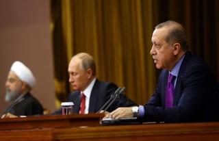 Türkiye-Rusya-İran Liderler Zirvesi 4 Nisan'da