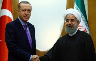 Erdoğan-Ruhani görüşmesi yapıldı