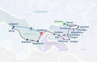 Çin ile Kırgızistan arasında rota krizi