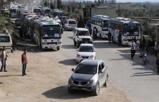 Kadem'den bin 55 sivil tahliye edildi