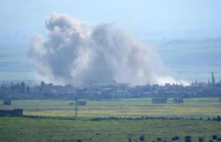 Suriye'de hava saldırısı: 4 ölü, 5 yaralı