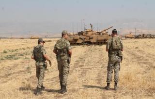 Irak'ın kuzeyinde bulunan el yapımı patlayıcılar...