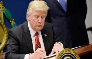 Trump, 1,3 trilyon dolarlık bütçe paketini onayladı