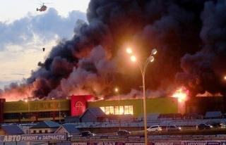 Rusya'daki AVM yangınında ölü sayısı 64'e yükseldi