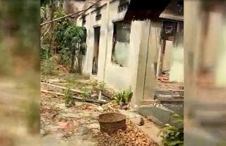 Budistlerin Arakan'da yaktığı köylerin yeni görüntüleri