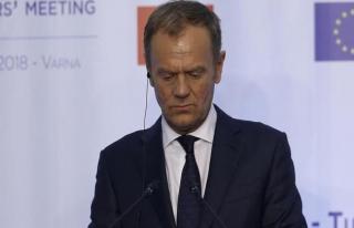 AB Konseyi Başkanı Tusk'tan Trump'a sert sözler