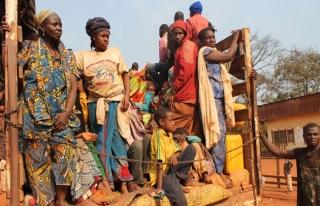 Kongo'dan Orta Afrika'ya tersine göç