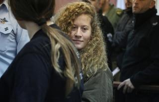 Filistinli cesur kız Temimi'nin erken tahliye talebine...