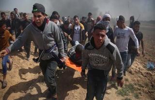 İsrail'den Gazze'de kanlı müdahale | FOTO-VİDEO