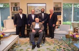 S. Arabistan Veliaht Prensi Selman'dan Bush'lara ziyaret!