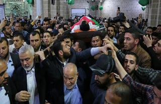 Gazze'de şehit edilen Filistinli gazeteci Murteca...