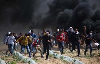 Filistin'deki 'Toprak Günü' gösterilerinde şehit...