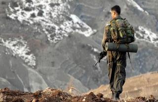 Ağrı'da jandarma ile PKK'lılar arasındaki çatışmada...