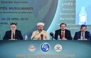 Dünya Müslüman Azınlıklar Zirvesi sona erdi