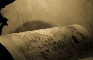 Mısır'da 218 yıllık Filistin haritası ele geçirildi