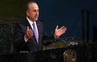 Çavuşoğlu'ndan ABD'ye 'Kudüs' tepkisi