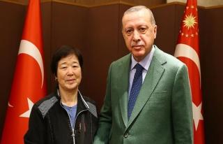 Cumhurbaşkanı Erdoğan 'Ayla' ile bir araya geldi