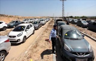 İsrail Gazze'ye araç girişini kesti
