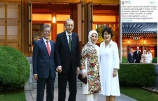 Cumhurbaşkanı Erdoğan, Moon'un tweetini paylaştı