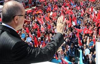 Erdoğan: Bizi bölmek isteyenlere en büyük şamar...