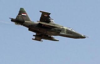 Irak savaş uçakları, Suriye'de DEAŞ mevzilerini...