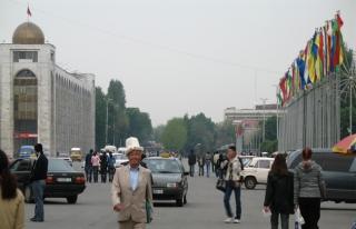 Bişkek, Şanghay İşbirliği Örgütü Toplantısına...