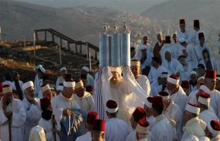 Samiri Yahudileri 'Hamursuz Bayramı'nda hacı oldu