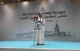 Arap Gazetecilerle 'İslam coğrafyasında birlik'...