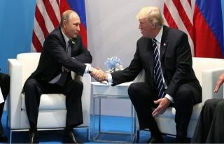 Trump, Putin'i tebrik etti
