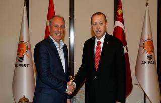 Erdoğan-İnce görüşmesi 40 dakika sürdü