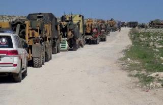 İdlib'de 12'nci ateşkes gözlem noktası kuruldu