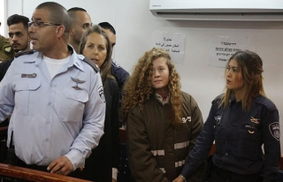 Filistinli cesur kız Ahed'in ağabeyi gözaltında