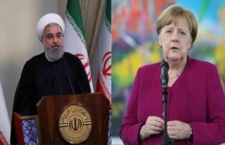 Merkel ve Ruhani telefonda görüştü