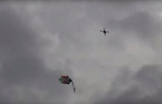 İsrail sivillere drone ile saldırdı