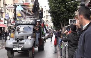 Ramallah'ta 70 yıl önceki Nekbe tanığı otobüsler...