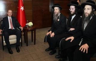 Erdoğan, Musevi Cemaati üyelerini kabul etti