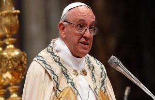 Papa Franciscus'dan İsrail'in Gazze'deki katliamına...