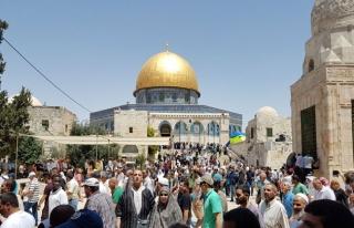 Kudüs'ün Endonezyalılara yasaklanmasına tepki