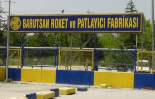 Ankara'da barut fabrikasında patlama: 1 ölü