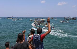 İsrail'den, Mavi Marmara anısına Gazze'den açılan...