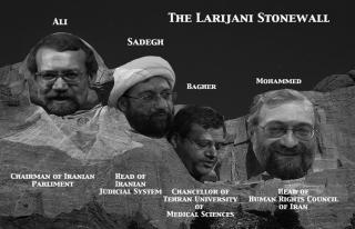 İran devlet yapılanmasında Laricani geleneği bozulmadı