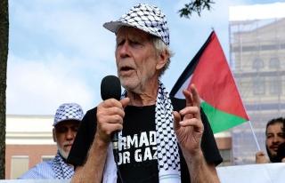 'Gazze'ye Özgürlük Filosu' Rotterdam'da
