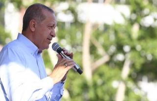 Erdoğan: Asıl gündemimiz yapacağımız hizmetlerdir
