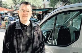 Papaz Brunson'un PKK'lı ev arkadaşı